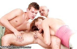 امرأة شابة مع الحمار كبيرة, مع السرطان على السرير و الرجل في مواقع اباحيه اجنبيه الحمار